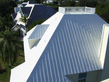 Reflective Roof Painting